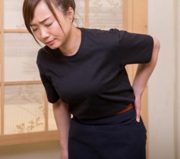 腰の痛みの改善施術