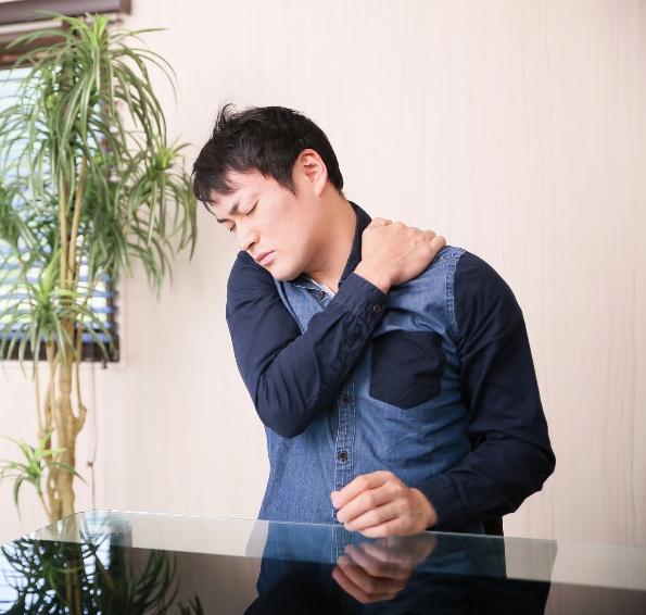 肩の痛み改善施術