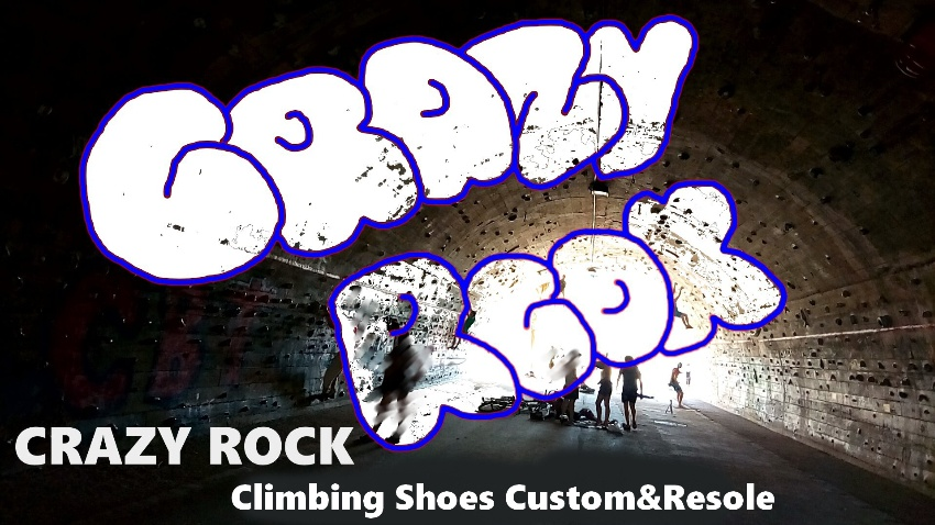 CRAZY ROCK Climbing Shoes Custom&Resol