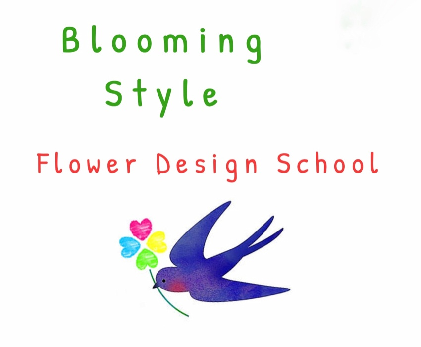 Flower design Blooming Style