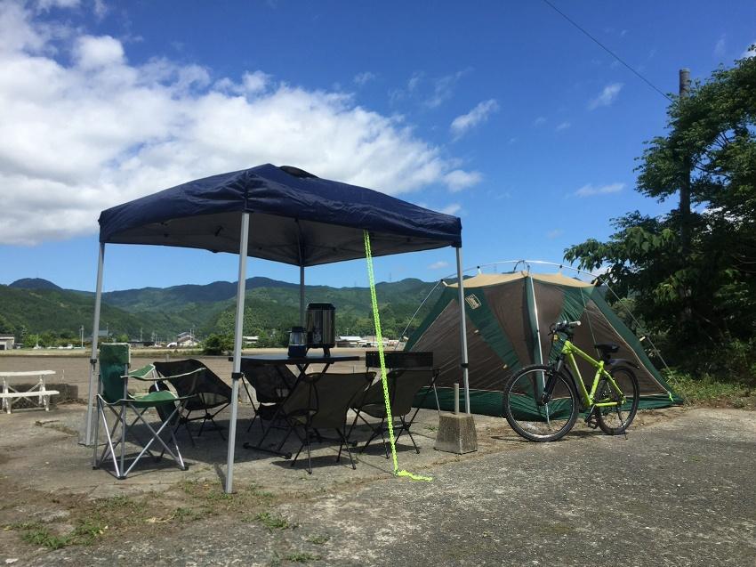 古民家キャンプ